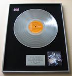 ELVIS PRESLEY - ELVIS' GOLDEN HITS VOLUME 1 PLATINUM LP PRESENTATION Disc